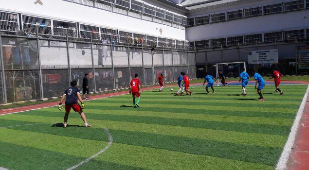 Futsal di Rutan Bandung Hadirkan Robby Darwis