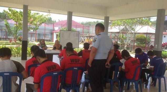 PKBM Lapas Narkotika Palembang Fasilitasi Pendidikan bagi WBP