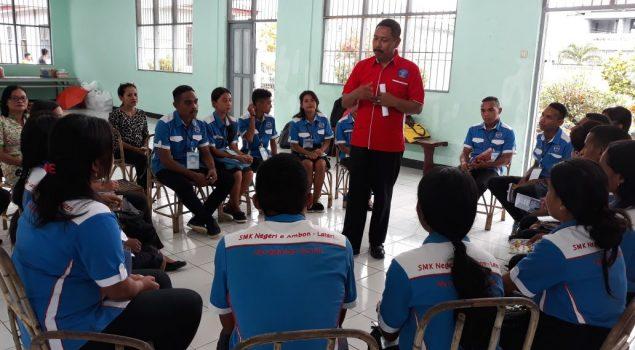 SMK Negeri 6 Ambon Laksanakan Ujian Kompetensi di Lapas Ambon