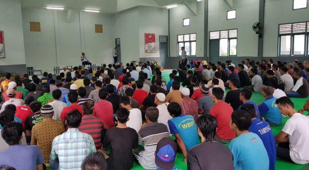Istighosah Jalin Silaturahmi Petugas & WBP Lapas Tanjungpandan