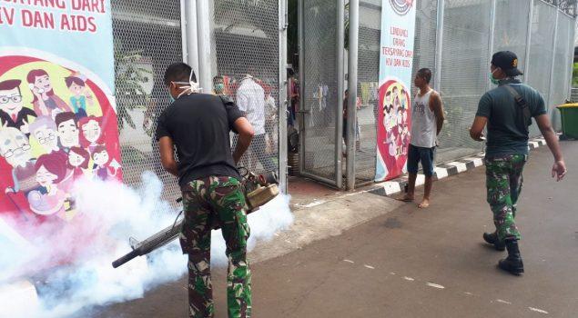 Asap Fogging Penuhi Rutan Jakarta Pusat