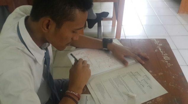 5 Anak LPKA Lampung Ujian di Yayasan Dwi Mulya Masgar, 1 di SMA Asal