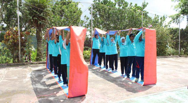 Latihan Fisik, Mental, dan Disiplin Tempa Jajaran Bapas Pati