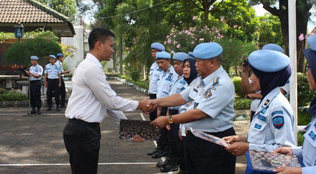Orientasi Selesai, CPNS Lapas Yogya Terima SK Penempatan Jabatan