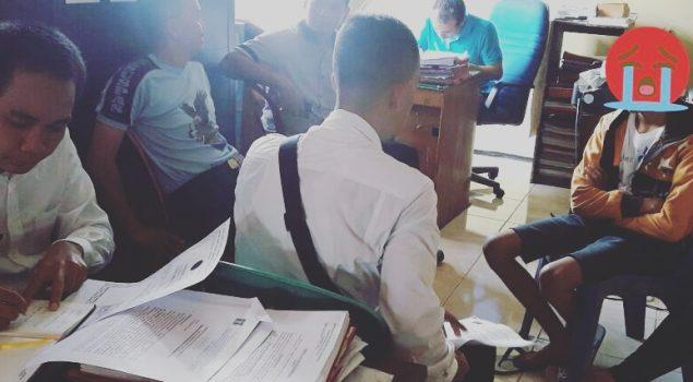 PK Bapas Lahat Dampingi ABH Kasus Pengroyokan