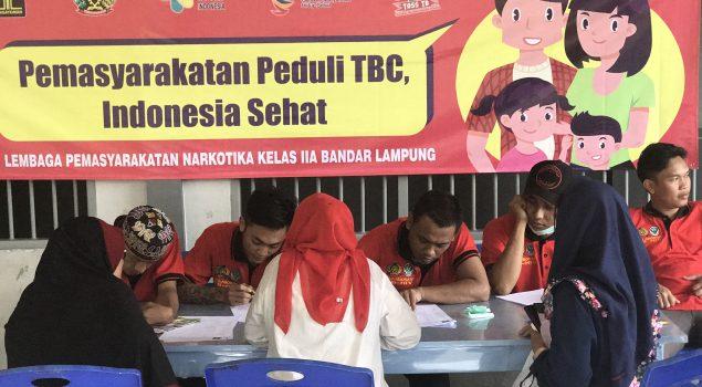 Lapas Narkotika Bandar Lampung Sambut Peringatan Hari TB Sedunia