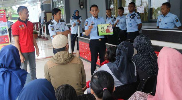 "Lapas Narkotika Sungguminasa Galakkan ""Pemasyarakatan Peduli TBC, Indonesia Sehat"""