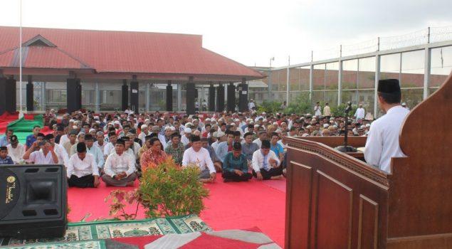2.500 Jamaah Hadiri Dzikir Akbar di Lapas Banda Aceh