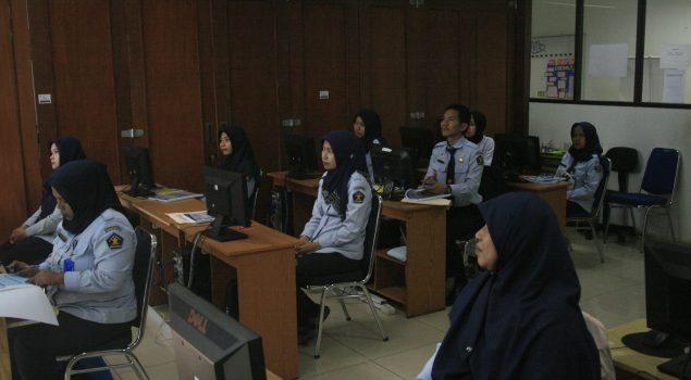 Bapas Jakarta Selatan Laksanakan Pelatihan Komputer Untuk Petugas