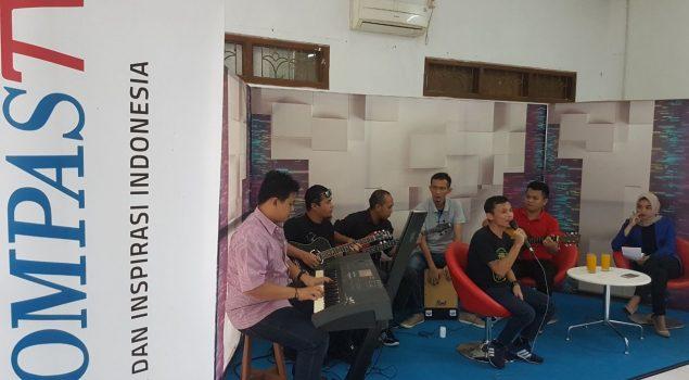 Trabas Band Diundang Talkshow Kompas TV Lampung