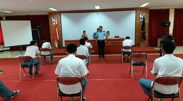 USBN Paket C Hari Pertama di Lapas Cipinang Berjalan Lancar