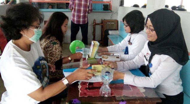 Peringati Hari TB Sedunia, LPKA Yogya Gelar Skrining TB bagi Pengunjung