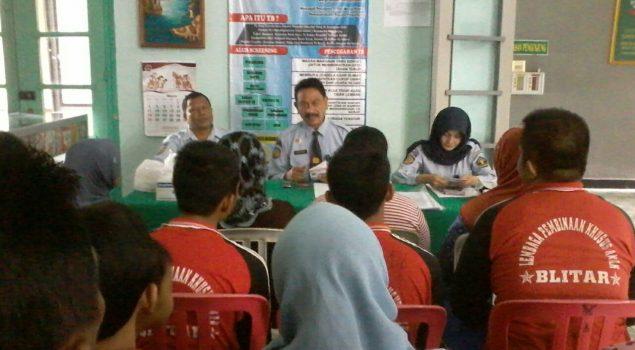 Screening Pengunjung, Tak Ada Suspect TB di LPKA Blitar