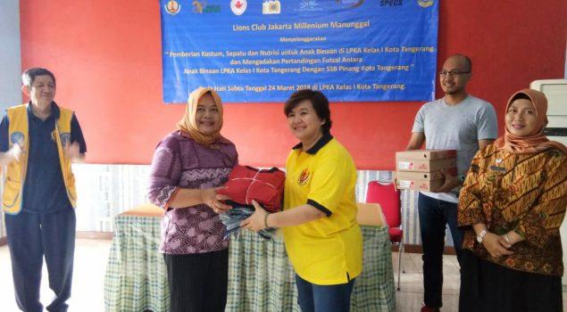 Dukungan Sarpras Tingkatkan Pembinaan di LPKA Tangerang