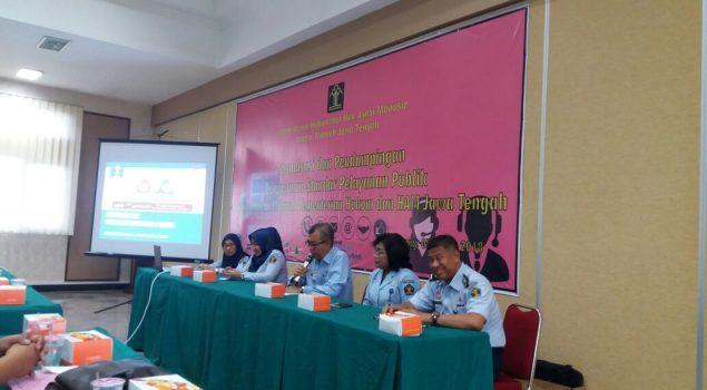 Perwakilan Bapas Pati Ikuti Sosialisasi & Pendampingan Penyusunanan Standar Pelayanan Publik