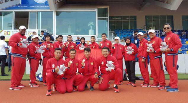 Ajang APTFC, Kontingen Indonesia Puncaki Perolehan Medali