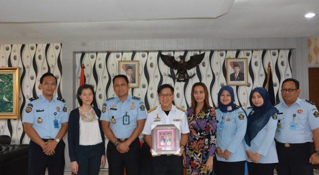 Delegasi Thailand Sambangi Lapas Narkotika Jakarta