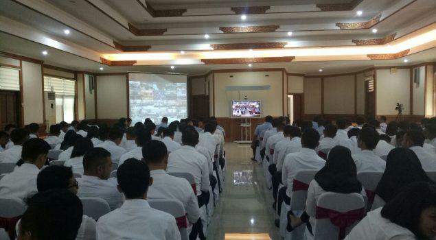CPNS Bapas Denpasar Termotivasi Usai Ikuti Presidential Lecture
