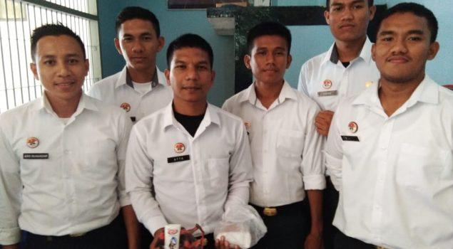 CPNS Rutan Jantho Bantu Gagalkan Penyelundupan Sabu