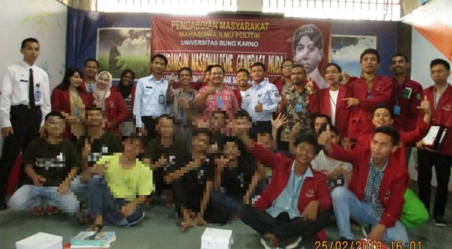 Tumbuhkan Nasionalisme Anak, LPKA Jakarta Gandeng UBK