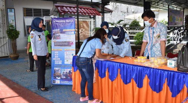Skrining TB, Lapas Narkotika Lubuk Linggau Gandeng Dinkes Musi Rawas