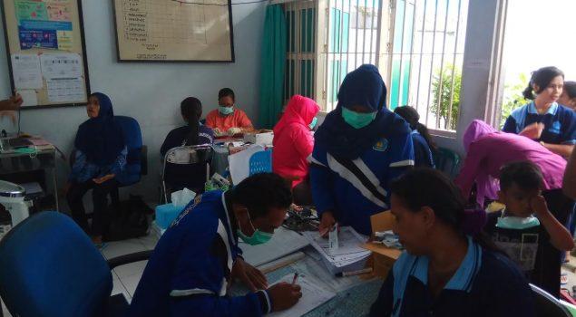 Gandeng Dinas Kesehatan Maluku, Rutan Ambon Gelar Pemeriksaan IMS dan HIV/AIDS