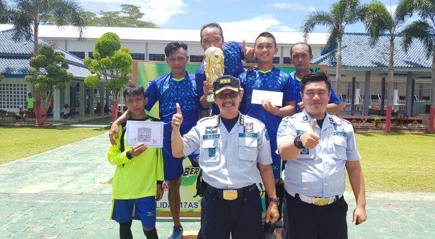 Turnamen Futsal WBP Perebutkan Kalapas Metro Cup