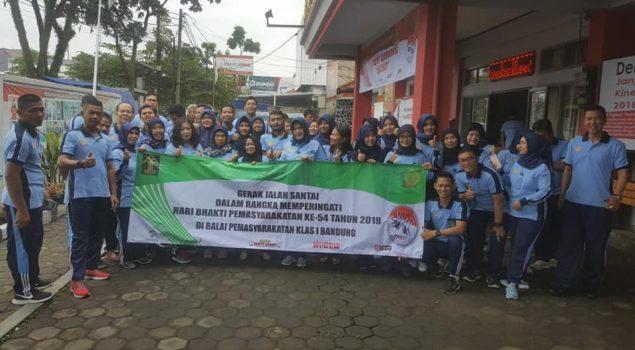 Pekan Olahraga Bapas Bandung Diisi dengan Gerak Jalan & Lomba Masak