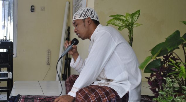 Lantunan Hafidz Quran Menggema di Rutan Rangkasbitung