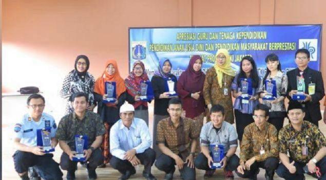 Lapas Narkotika Jakarta Juara 1 Kategori Pengelola PKBM se-DKI Jakarta