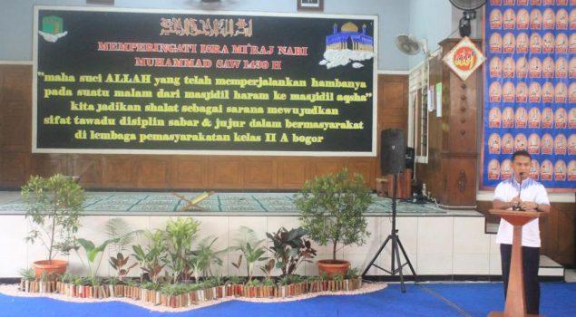Isra Mi'raj di Lapas Bogor Dihadiri Imam Besar Masjid Al Azhar