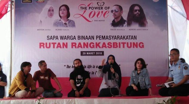 Pemeran 212: The Power of Love Memotivasi WBP Rutan Rangkasbitung