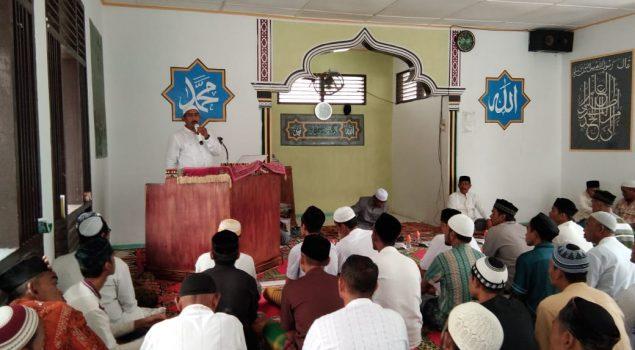 Peringati Isra Mi'raj, WBP Rutan Jantho Diminta Bersabar