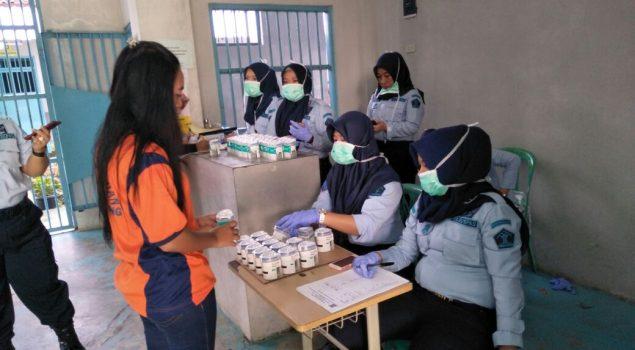 Razia di Lapas Perempuan Lampung Nihil HP & Narkoba