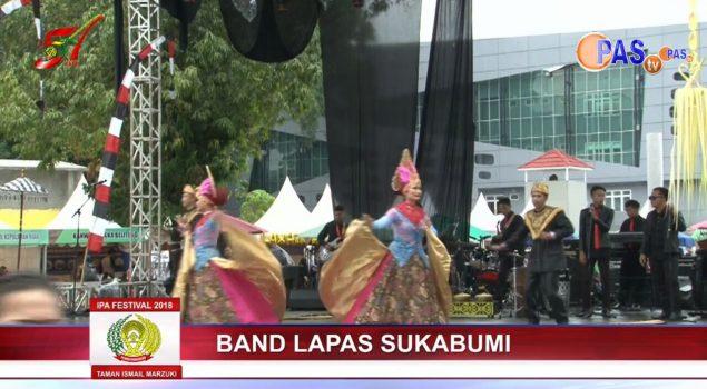 Pertunjukan Musik & Tari WBP Ramaikan IPAFest 2018