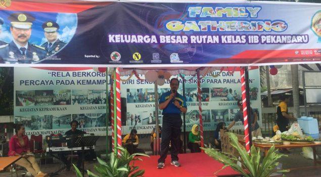 250 Peserta Meriahkan Family Gathering Rutan Sialang Bungkuk