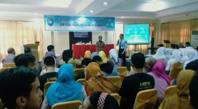 Anak LPKA Bengkulu Dilantik Jadi Relawan Pengembangan Kota Layak Anak