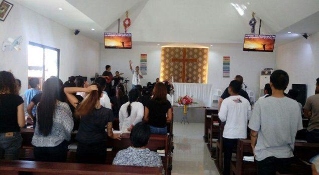 WBP Lapas Kerobokan Peringati Jumat Agung bersama Kadiv PAS Bali