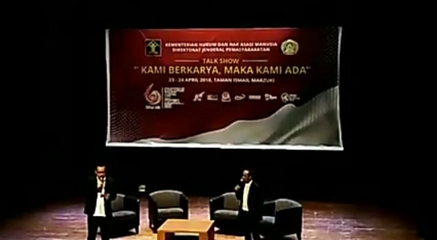"Talkshow ""Kami Berkarya Maka Kami Ada"" Awali IPAFest 2018"