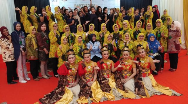 IIKP Kagumi Tarian WBP Lapas Perempuan Tangerang