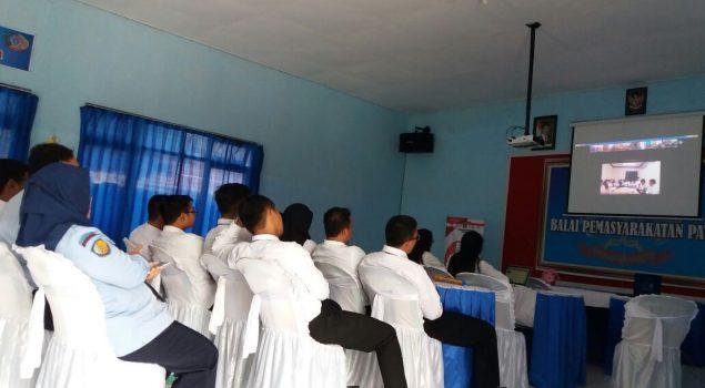 CPNS Bapas Pati Belajar SDP Online via Streaming