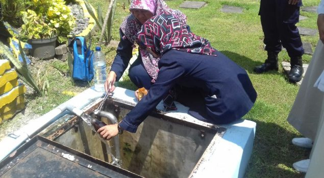 Datangkan Petugas Laborat, Rutan Bantul Jaga Kualitas Air bagi WBP