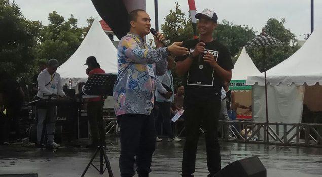 """Saipul Jamil """"Goyang"""" Panggung IPAFest 2018"""