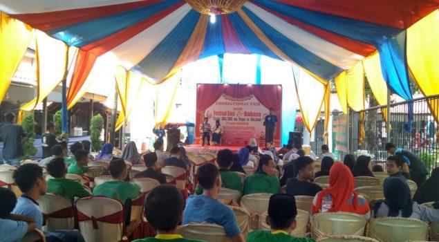 Rutan Rangkasbitung Gelar Festival Seni dan Bahasa