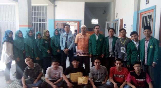 Konseling Mahasiswa Bantu Pembinaan Anak di LPKA Bengkulu