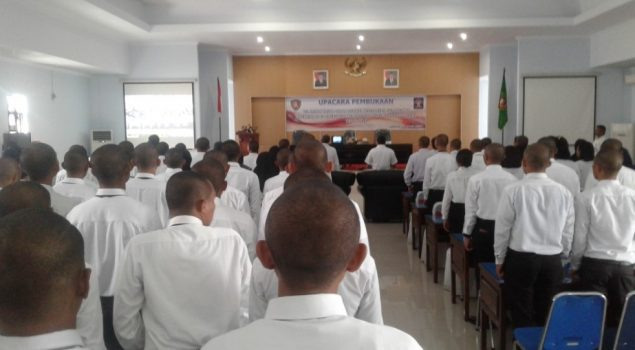 35 CPNS LPKA Maluku Ikuti Pembukaan Latsar