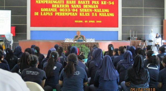 Pembinaan Bela Negara Kobarkan Semangat WBP Lapas Perempuan Malang