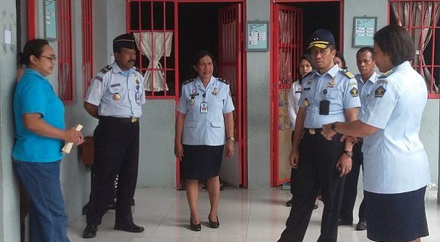 Datangi Lapas Perempuan Ambon, Ini Pesan Kakanwil Maluku