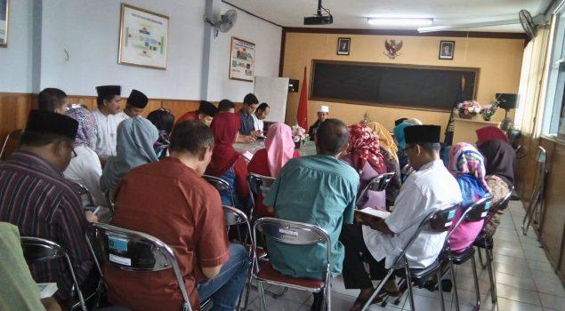 Ustad Maulana Pimpin Tadarus di Bapas Bandung