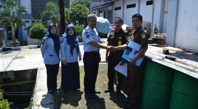 Rupbasan Bandung Keluarkan Bbm Hasil Lelang
